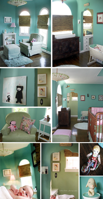 little girls nursery that she will love for years to come